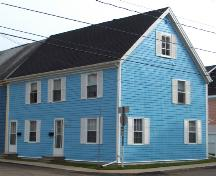 Showing north west elevation; City of Charlottetown, Natalie Munn, 2006