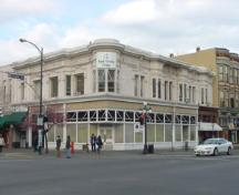 Exterior view of the Reynolds Block, 2004.; City of Victoria, Steve Barber, 2004.