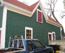 East side of the Sen. John Lovitt Barn, Yarmouth, NS; Heritage Division, Dept. of Tourism, Culture & Heritage, 2006