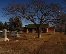 Grave Monuments and Chapel; City of Moose Jaw, 2006.