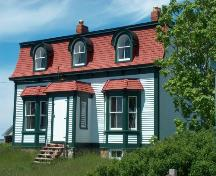 Front view of Jubilee House, Bonavista, summer 2005, after restoration work; HFNL 2005
