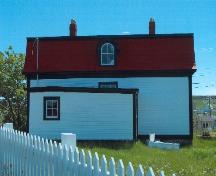 Exterior rear view of Jubilee House, Bonavista, summer 2005, after restoration work; HFNL 2005