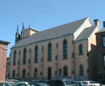 Shaarei Zedek Synagogue/Calvin Church - side view; PNB