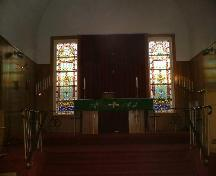 Alter of St. Paul's Lutheran Church; Dwayne Yasinowski, 2006.