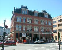 City Market - front façade on Charlotte Street.; PNB