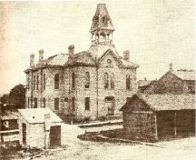 Town Hall and Market Building c. 1885; Heritage Newmarket Newmarket Historical Society