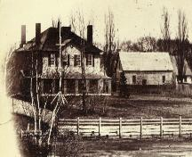 In the 1860s when owned by Mayor Thomas Heath Haviland; PARO/PEI  Acc #3466 / HF 74.27.3.240