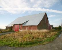 Exterior view of Barn, 2004; Corporation of Delta