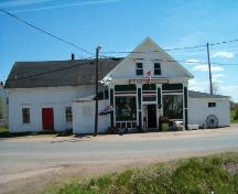 Layton's General Store, Front Elevation, Great Village, 2004; Heritage Division, Nova Scotia Department of Tourism, Culture and Heritage, 2004