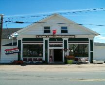 Layton's General Store, Entrance Facade, Great Village, 2004; Heritage Division, Nova Scotia Department of Tourism, Culture and Heritage, 2004