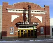 Empress Theatre Provincial Historic Resource, Fort Macleod (April 2004); Alberta Culture and Community Spirit, Historic Resources Management Branch, 2004