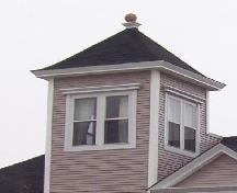 tower detail, Annandale, Wolfville, NS, 2006; Heritage Division, NS Dept. of Tourism, Culture and Heritage, 2006