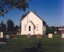 Showing front elevation; Doug Kelly, Clifton United Church, 2006