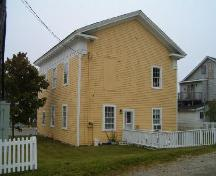 Rear and south side elevation.; Heritage Division, NS Dept. of Tourism, Culture and Heritage, 2004.