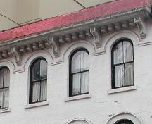 Colwell Building, window detail, 2004; Heritage Division, NS Department of Tourism, Culture and Heritage, 2004