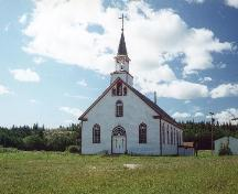 Nativity of the Blessed Virgin Roman Catholic Church Provincial Historic Resource, Fort Chipewyan (date unknown); Alberta Culture and Community Spirit, Historic Resources Management Branch, DATE UNKNOWN