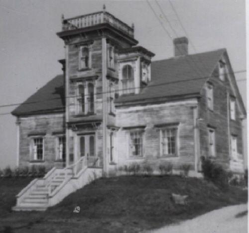 An older view of the Ellery Scott House