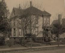An historic image of the Fuller House, taken at an unknown date.; Courtesy of Yarmouth County Museum & Archives.