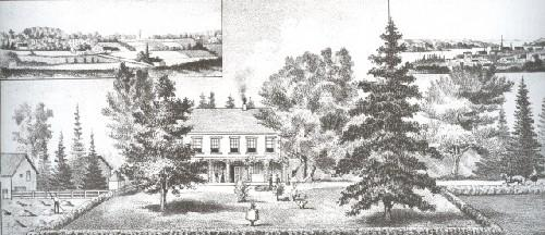 Glynwood Estate when owned by Henry Longworth