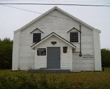 Front elevation, Greenville United Baptist Church, Greenville, 2004.; Heritage Division, NS Dept. of Tourism, Culture & Heritage, 2004.