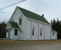 South east elevation, Greenville United Baptist Church, Greenville, 2006.; Heritage Division, NS Dept. of Tourism, Culture & Heritage, 2006.