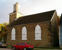Side Elevation, St. Patrick's Church, Sydney, 2004; Heritage Division, Nova Scotia Department of Tourism, Culture and Heritage, 2004