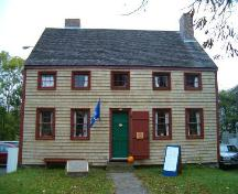 Cossit House, Sydney, front elevation, 2004.; Heritage Division, NS Dept. of Tourism, Culture and Heritage, 2004.