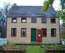 Cossit House, Sydney,rear elevation, 2004.; Heritage Division, NS Dept. of Tourism, Culture and Heritage, 2004.
