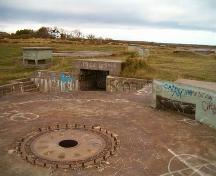 Chapel Point Battery Site.; Heritage Division, NS Dept. of Tourism, Culture and Heritage, 2004.