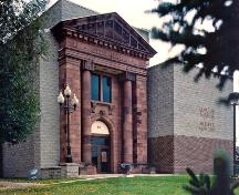 1916 City Hall Façade - today, it serves as the entrance to the Moncton Museum - 2005; Moncton Museum