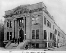 Moncton City Hall and Market Building, completed in 1916.; Moncton Museum