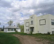 View of both school buildings, 2005.; Government of Saskatchewan, 2005.