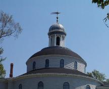 Rotunda, St. George's Church, Brunswick Street, Halifax, 2004.; Heritage Division, NS Dept. of Tourism, Culture and Heritage, 2004.
