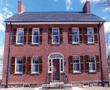 Sheriff Andrews House - front façade; Province of New Brunswick