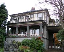 Exterior view of the Rowland Powell House, 2006; Corporation of the District of Oak Bay, 2006