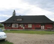 Rocanville Train Station within the Rocanville and District Museum Site, 2004.; Government of Saskatchewan, Brett Quiring, 2004.