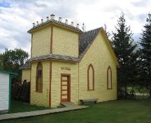 View of Hillburn Church within the Rocanville and District Museum Site, 2004.; Government of Saskatchewan, Brett Quiring, 2004.