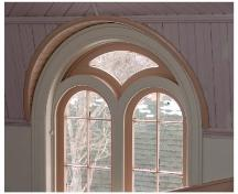 Showing interior window detail; Province of PEI, 2006