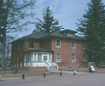 Front elevation; Government of Saskatchewan, Frank Korvemaker, 2002