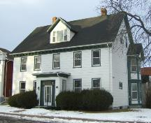 Showing south west elevation; City of Charlottetown, Natalie Munn, 2007