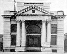 Exterior view of the B.C. Permanent Building, 1908; Greater Vancouver Illustrated, p189