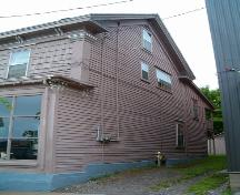 North elevation, Manning Block, Parrsboro, NS, 2005.; Heritage Division, NS Dept. of Tourism, Culture and Heritage, 2005.