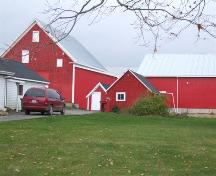 Farm buildings, Ilsley Homestead, Somerset, NS, 2006.; Heritage Division, NS Dept. of Tourism, Culture and Heritage, 2006.