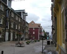 Historic Waterfront Buildings, view of the east side, 2004; Heritage Division, NS Dept of Tourism, Culture and Heritage, 2004