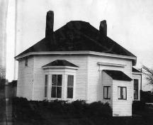 Captain George Anderson House - The house at the original site; Town of Sackville
