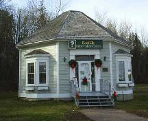 Captain George Anderson House - Moved to this site and reopened in 1989 as the Sackville Visitor Information Centre; Town of Sackville