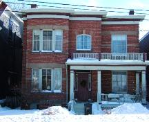 Corbett Residence - This is a contextual photo of the building, 2005; City of Saint John