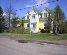 Easterbrooks House - Front facade - Newer windows in an older structure; Town of Sackville