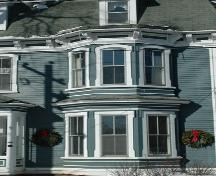 Bay window detail, Delap-Savary House, Annapolis Royal.; Heritage Division, NS Dept. of Tourism, Culture and Heritage, 2007