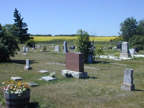 Looking North from within the Cemetery, 2006.